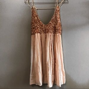 NWT Free People sequin dress